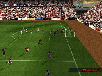 Pantallazo del juego online UEFA Striker (PSX)