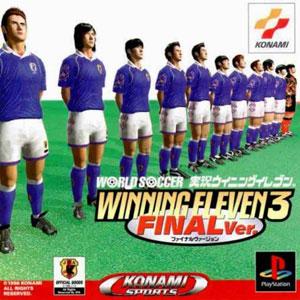 Carátula del juego World Soccer Jikkyou Winning Eleven 3 Final Ver (PSX)