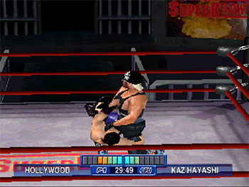 Imagen de la descarga de WCW Mayhem