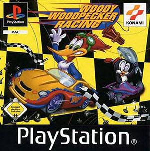 Portada de la descarga de Woody Woodpecker Racing