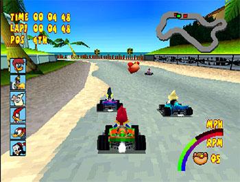 Imagen de la descarga de Woody Woodpecker Racing