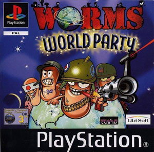 Portada de la descarga de Worms world Party
