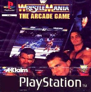 Portada de la descarga de WWF Wrestlemania: The Arcade Game