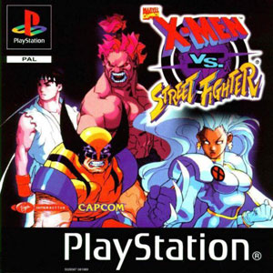 Juego online X-Men vs Street Fighter (PSX)