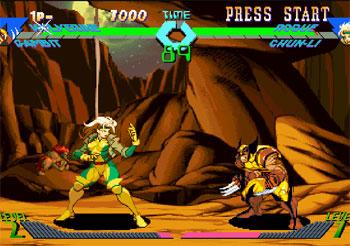 Imagen de la descarga de X-Men vs Street Fighter