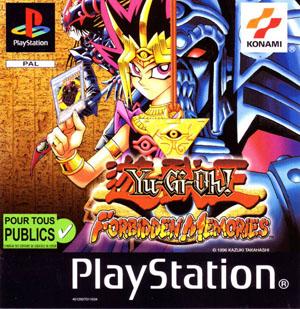Portada de la descarga de Yu-Gi-Oh: Forbidden Memories