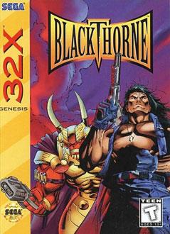 Carátula del juego BlackThorne (Sega 32x)