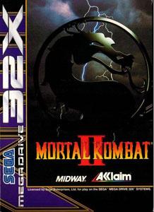 Carátula del juego Mortal Kombat II (Sega 32x)
