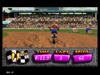 Pantallazo del juego online Motocross Championship (Sega 32x)