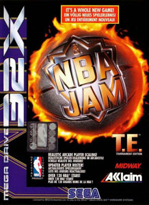 Carátula del juego NBA Jam Tournament Edition (Sega 32x)