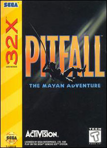 Portada de la descarga de Pitfall: The Mayan Adventure