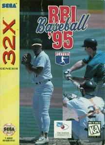 Carátula del juego RBI Baseball 95 (Sega 32x)