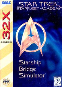 Carátula del juego Star Trek Starfleet Academy Starship Bridge Simulator (Sega 32x)