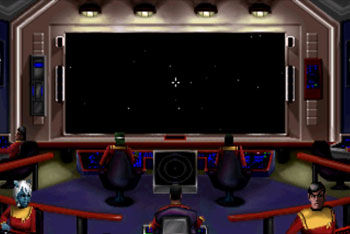 Pantallazo del juego online Star Trek Starfleet Academy Starship Bridge Simulator (Sega 32x)