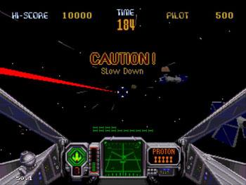 Pantallazo del juego online Star Wars Arcade (Sega 32x)