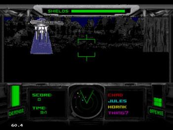 Pantallazo del juego online T-Mek (Sega 32x)