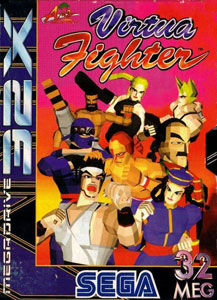 Carátula del juego Virtua Fighter (Sega 32x)