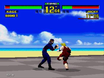 Pantallazo del juego online Virtua Fighter (Sega 32x)