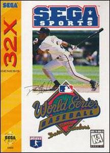 Carátula del juego World Series Baseball 95 (Sega 32x)