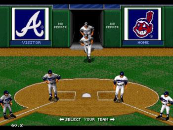 Pantallazo del juego online World Series Baseball 95 (Sega 32x)