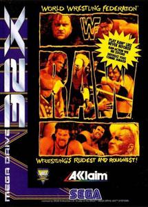 Carátula del juego WWF Raw (Sega 32x)