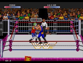 Pantallazo del juego online WWF Raw (Sega 32x)