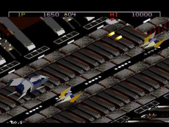Pantallazo del juego online Zaxxon's Motherbase 2000 (Sega 32x)