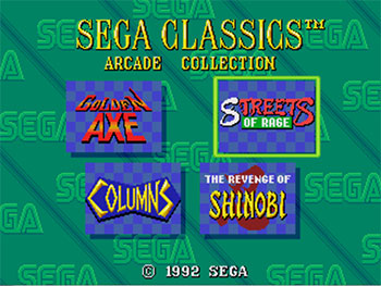 Imagen de la descarga de Sega Classics Arcade Collection 4-in-1