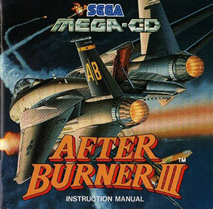 Carátula del juego After Burner III (SEGA CD)
