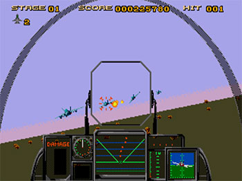 Pantallazo del juego online After Burner III (SEGA CD)