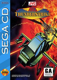 Carátula del juego AH-3 Thunderstrike (SEGA CD)