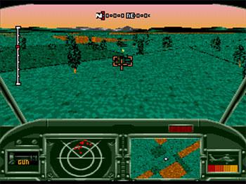 Pantallazo del juego online AH-3 Thunderstrike (SEGA CD)
