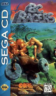 Carátula del juego BC Racers (SEGA CD)