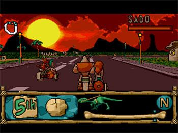 Pantallazo del juego online BC Racers (SEGA CD)