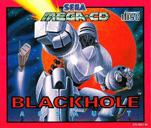 Carátula del juego Black Hole Assault (SEGA CD)