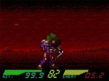 Pantallazo del juego online Black Hole Assault (SEGA CD)