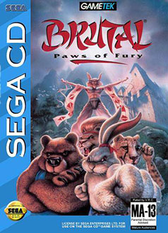 Juego online Brutal: Paws of Fury (SEGA CD)
