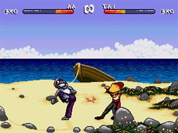 Pantallazo del juego online Brutal Paws of Fury (SEGA CD)