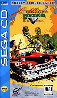 Juego online Cadillacs and Dinosaurs: The Second Cataclysm (SEGA CD)