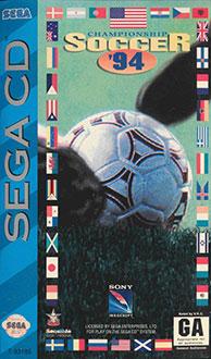 Carátula del juego Championship Soccer '94 (SEGA CD)