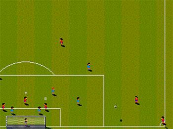 Pantallazo del juego online Championship Soccer '94 (SEGA CD)