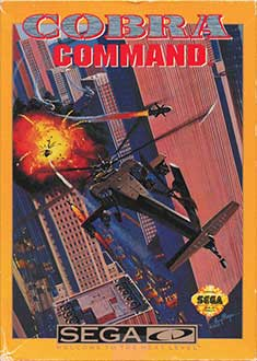 Juego online Cobra Command (SEGA CD)