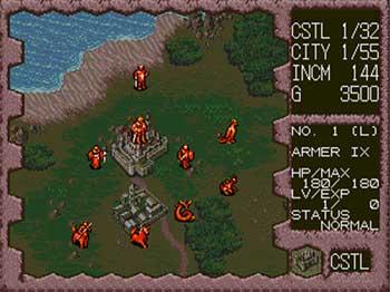 Pantallazo del juego online Dark Wizard (SEGA CD)