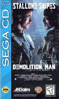 Carátula del juego Demolition Man (SEGA CD)
