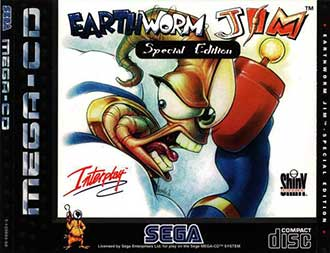 Portada de la descarga de Earthworm Jim Special Edition