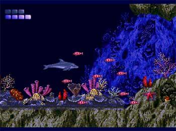 Pantallazo del juego online Ecco the Dolphin (SEGA CD)