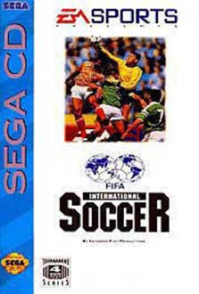 Carátula del juego FIFA International Soccer (SEGA CD)