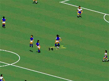 Pantallazo del juego online FIFA International Soccer (SEGA CD)