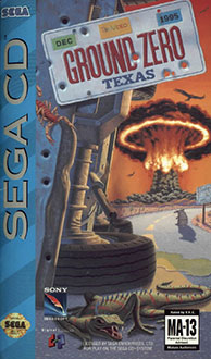 Carátula del juego Ground Zero Texas (SEGA CD)