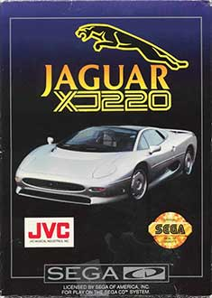 Juego online Jaguar XJ220 (SEGA CD)